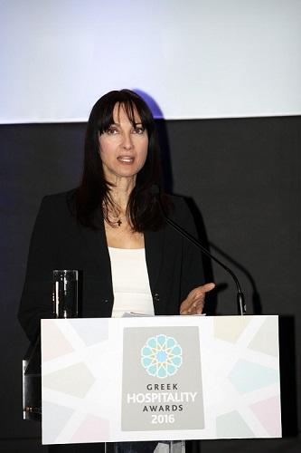 Η Υπουργός Τουρισμού απευθύνει χαιρετισμό