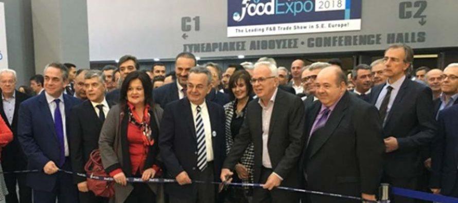 Ισχυρή θεσμική εκπροσώπηση στα εγκαίνια της FOOD EXPO