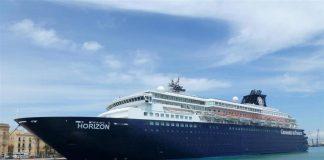 Το κρουαζιερόπλοιο Horizon «έκανε ποδαρικό» στο λιμάνι του Βόλου