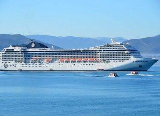 Το MSC MUSICA στο λιμάνι του Πειραιά!