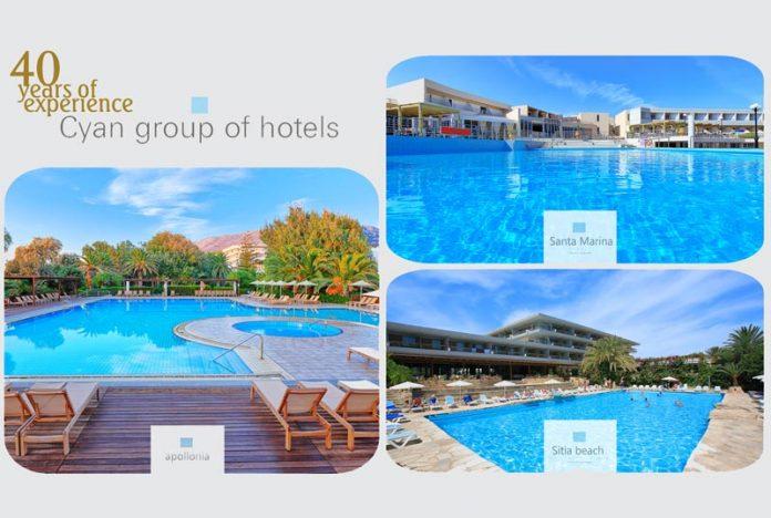 H Cyan Group of Hotels συμμετέχει στο «Let's do it Greece»