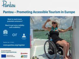 «Pantou»: Μητρώο εταιρειών προσβάσιμου τουρισμού στην Ε.Ε. για άτομα με ειδικές ικανότητες