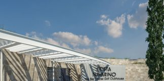 Υπόσκαφο Clubhouse στο γήπεδο της Costa Navarino