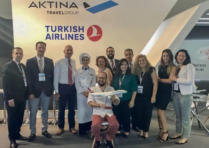 Turkish Airlines & Aktina Travel Group μαζί στα Ποσειδώνια 2018