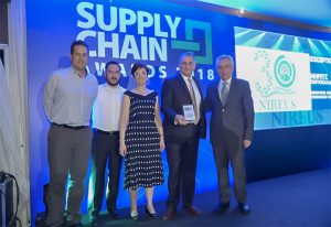 Exceptional βραβείο για την ΝΗΡΕΥΣ ΑΕ στα Supply Chain Awards 2018