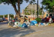 Στο απροχώρητο τα σκουπίδια στην Κέρκυρα