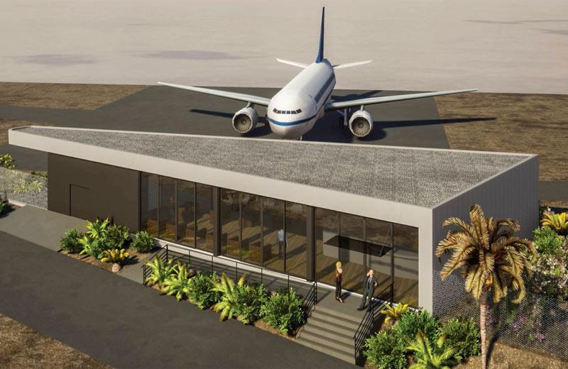 """Το όραμα του Private Aviation Lounge στο αεροδρόμιο """"Ν.Καζαντζάκης"""", Ηρακλείου Κρήτης αποκτά """"σάρκα και οστά""""!"""