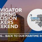 Στη Χίο θα διεξαχθεί το «Navigator Shipping Weekend»