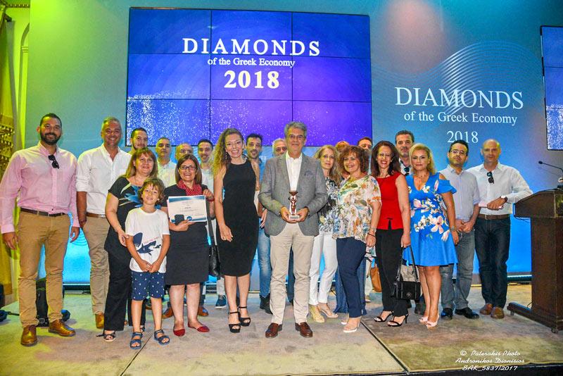 Πραγματοποιήθηκαν τα Diamonds of the Greek Economy 2018