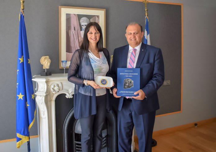 Συνάντηση Κουντουρά με τον πρόεδρο του Ελληνο-Αμερικανικού Ινστιτούτου ΑΗΙ