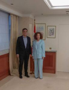 Η Πρεσβεία του Λιβάνου στο 16ο Ευρωπαϊκό Συνέδριο Γαστρονομίας και Οίνου