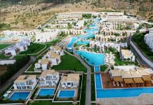 Το Mitsis Blue Domes Resort & Spa
