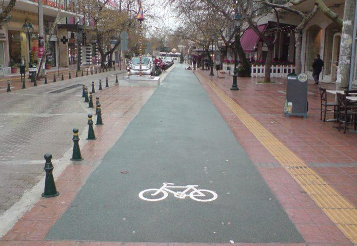 δίκτυο ποδηλατοδρόμων