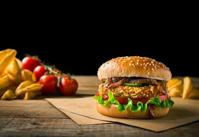 Crispy Mediterranean Burger