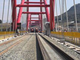 σιδηροδρομική γέφυρα