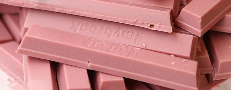 ροζ σοκολάτα