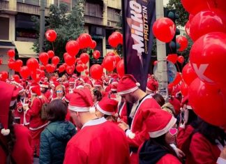 Santa Run Milko