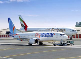 emirates, flydubai