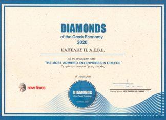 kapelis, diamond